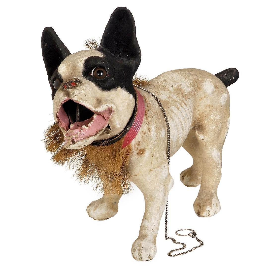 Mechanical Barking Bulldog Toy