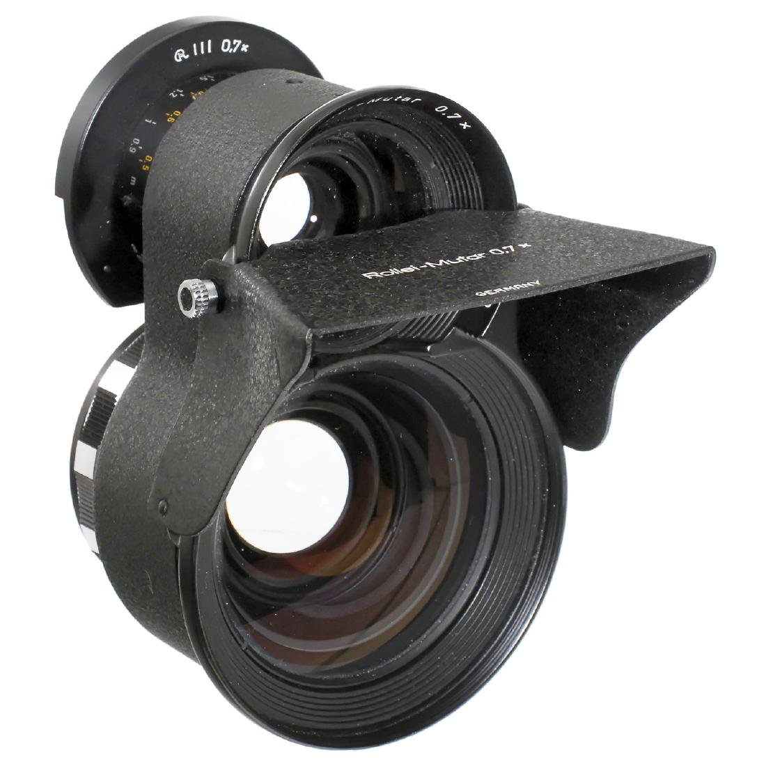 Tele and Wide-Angle Mutar for Rolleiflex TLR