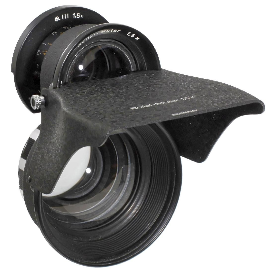 Tele and Wide-Angle Mutar for Rolleiflex TLR - 2