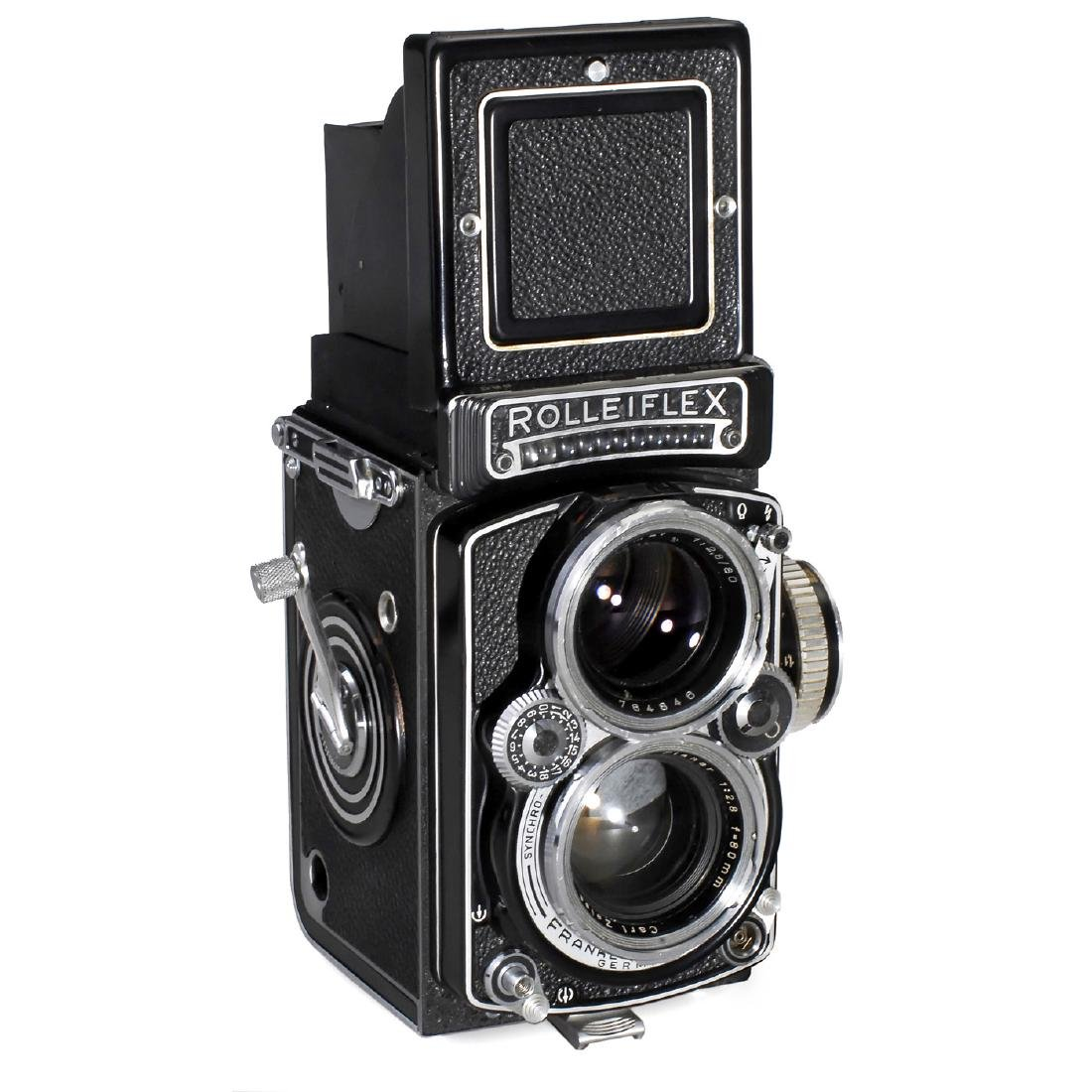 "Rolleiflex 2,8E ""Planar"", c. 1958"