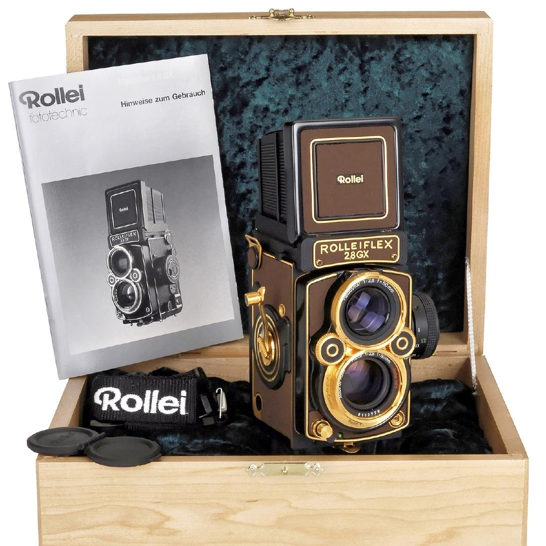 """Rolleiflex 2,8GX """"Gold Expression 94"""", 1994"""