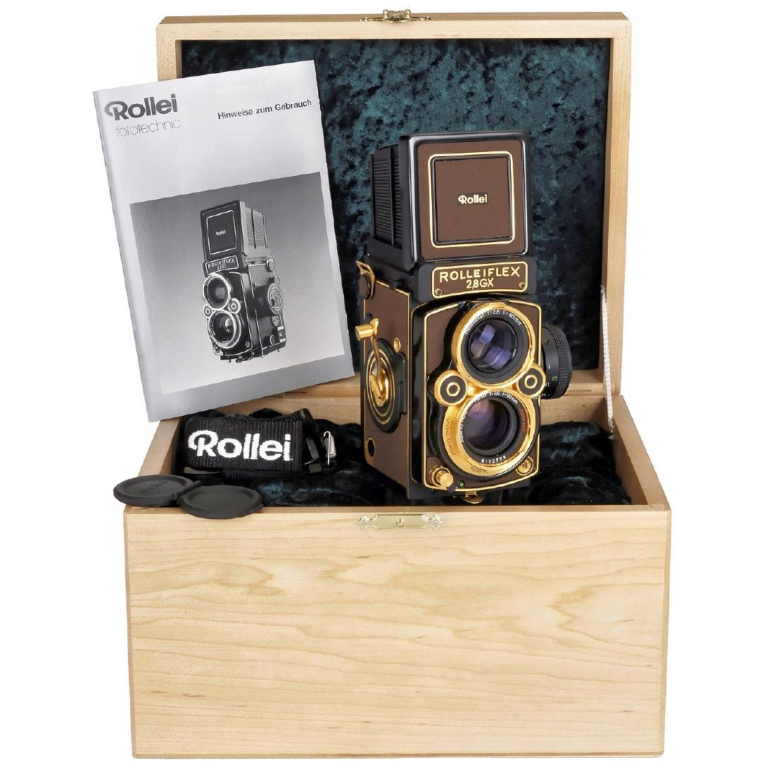 """Rolleiflex 2,8GX """"Gold Expression 94"""", 1994 - 2"""