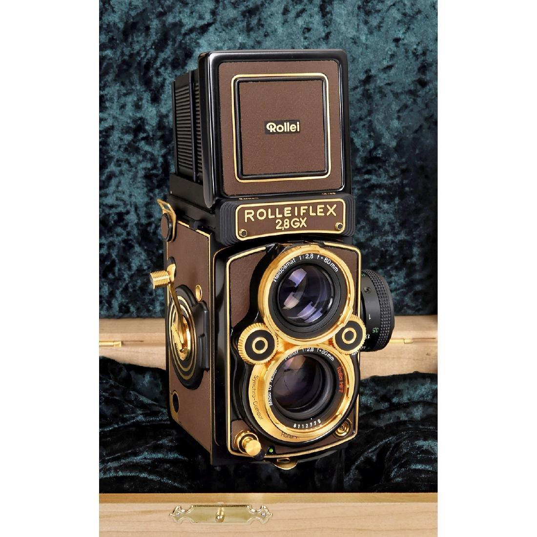 """Rolleiflex 2,8GX """"Gold Expression 94"""", 1994 - 3"""