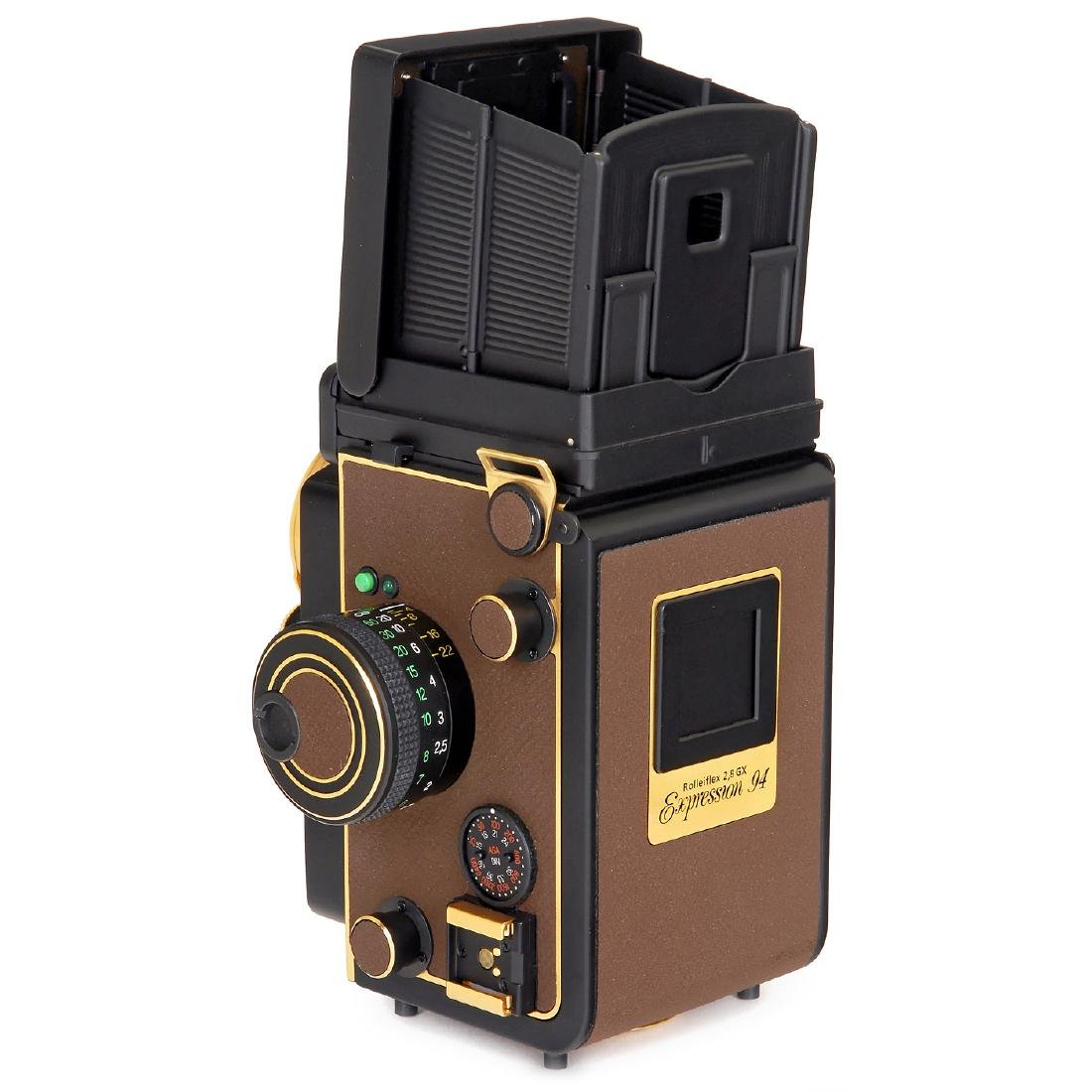"""Rolleiflex 2,8GX """"Gold Expression 94"""", 1994 - 4"""