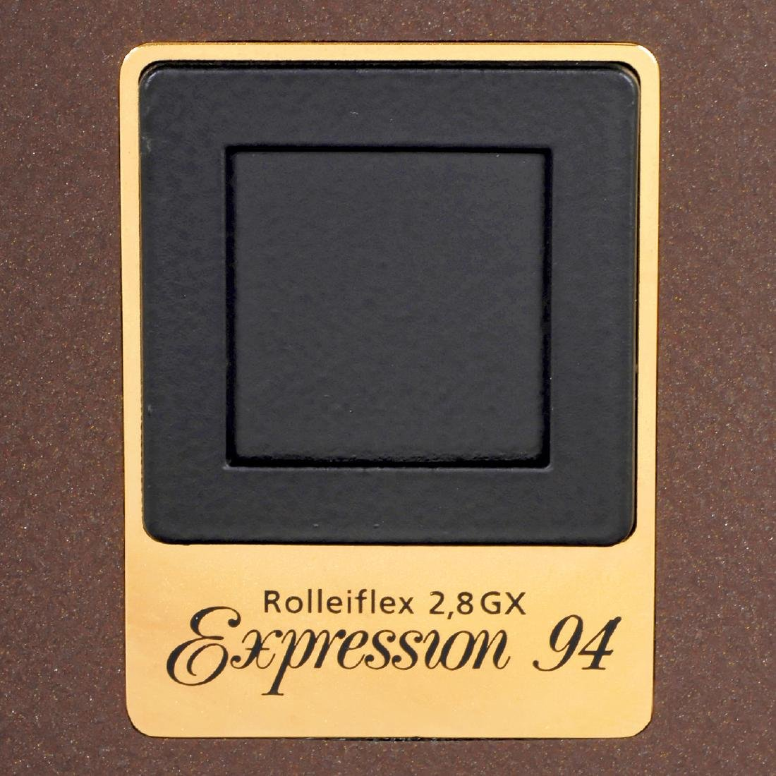 """Rolleiflex 2,8GX """"Gold Expression 94"""", 1994 - 5"""