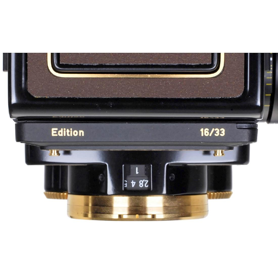 """Rolleiflex 2,8GX """"Gold Expression 94"""", 1994 - 6"""