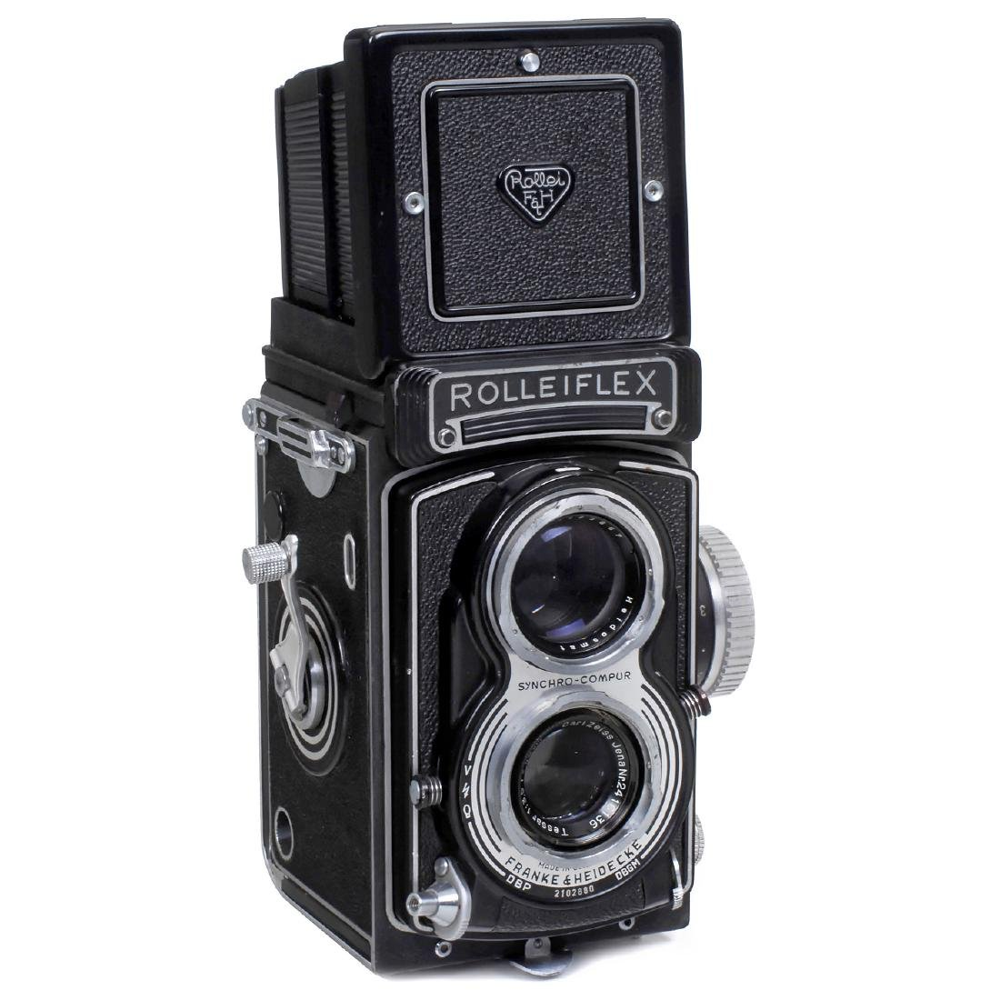 Rolleiflex T (Black!), First Model, c. 1959