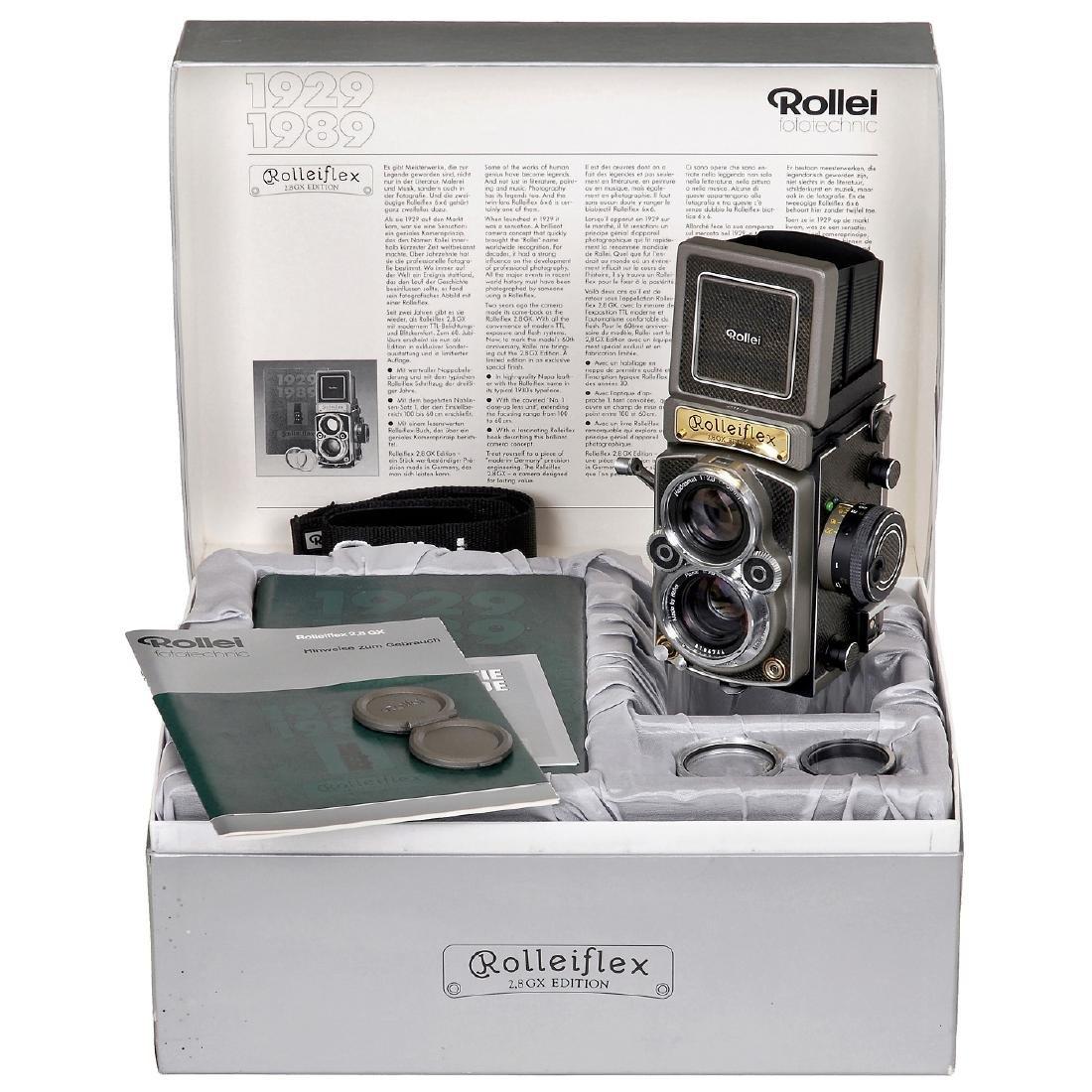 """Rolleiflex 2,8GX Edition """"1929-1989"""", 1989"""