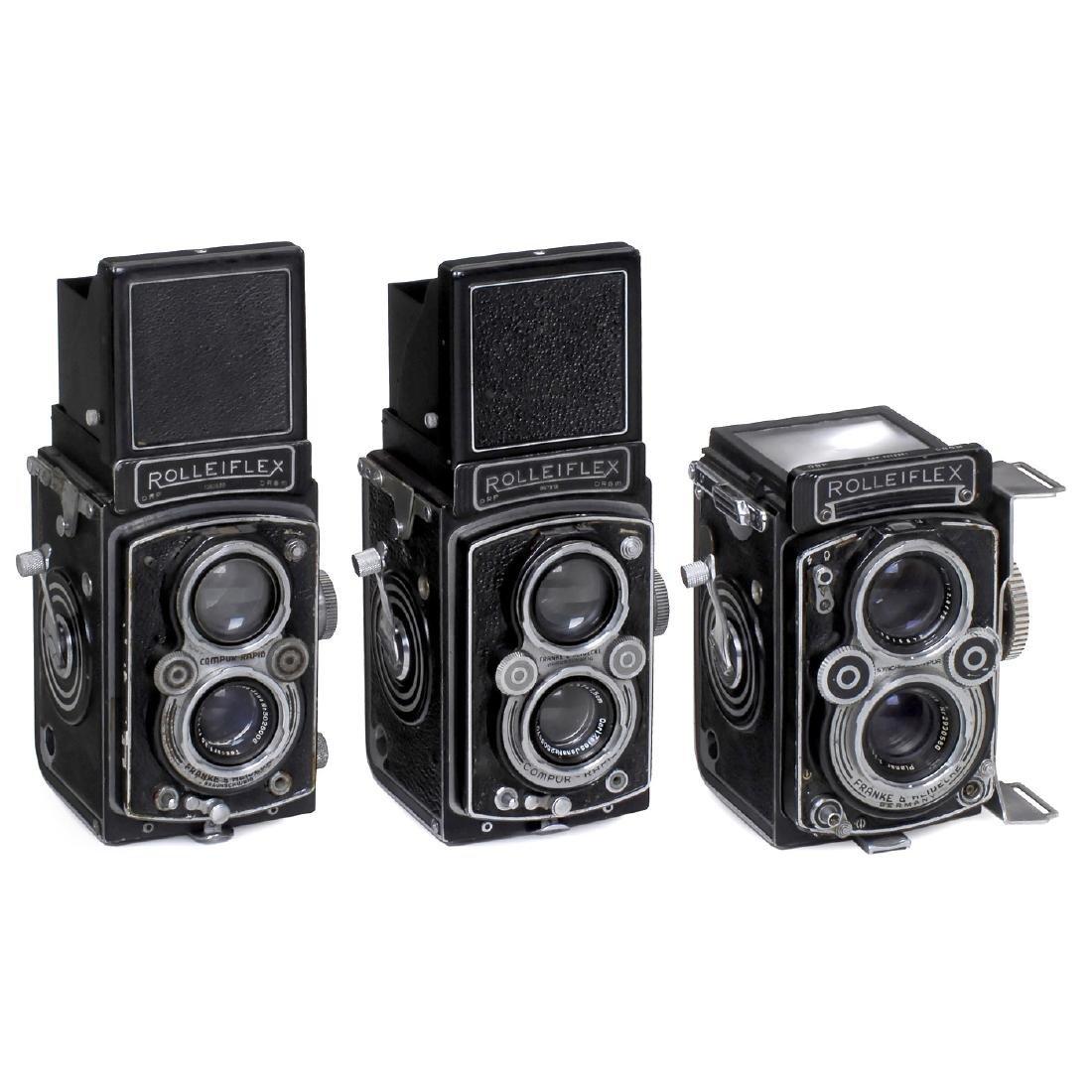 3 Rolleiflex TLR Cameras