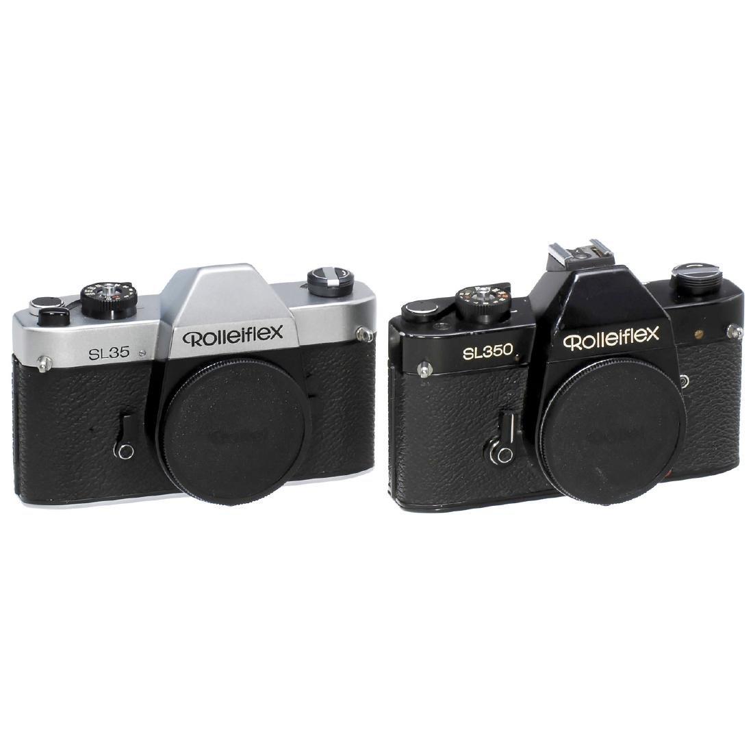 "Rolleiflex SL350 and SL35 ""Germany"""