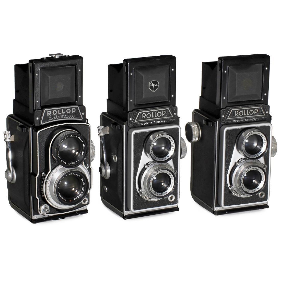 3 Rollop Cameras