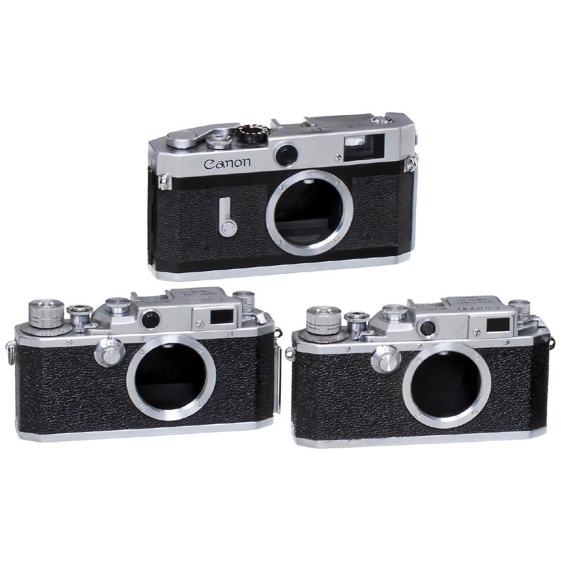 3 Canon Rangefinder Cameras