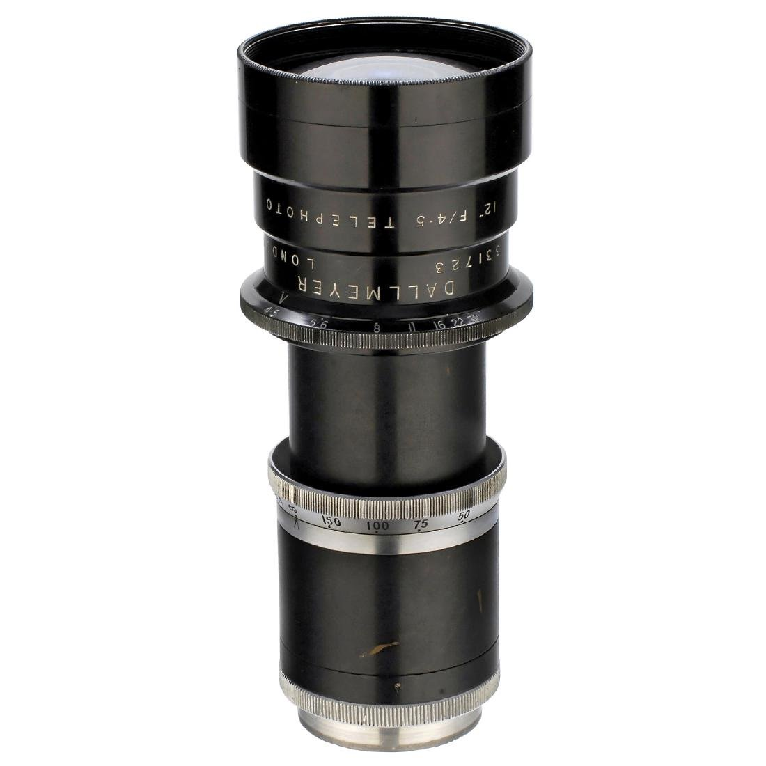Dallmeyer Telephoto 4,5/12 in. (30 cm) for Exakta 66,