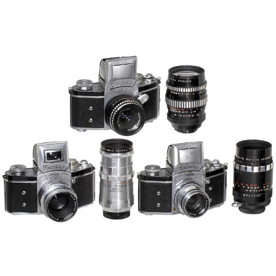 Kine-Exakta, Kine-Exacta, Exakta II and 6 Lenses