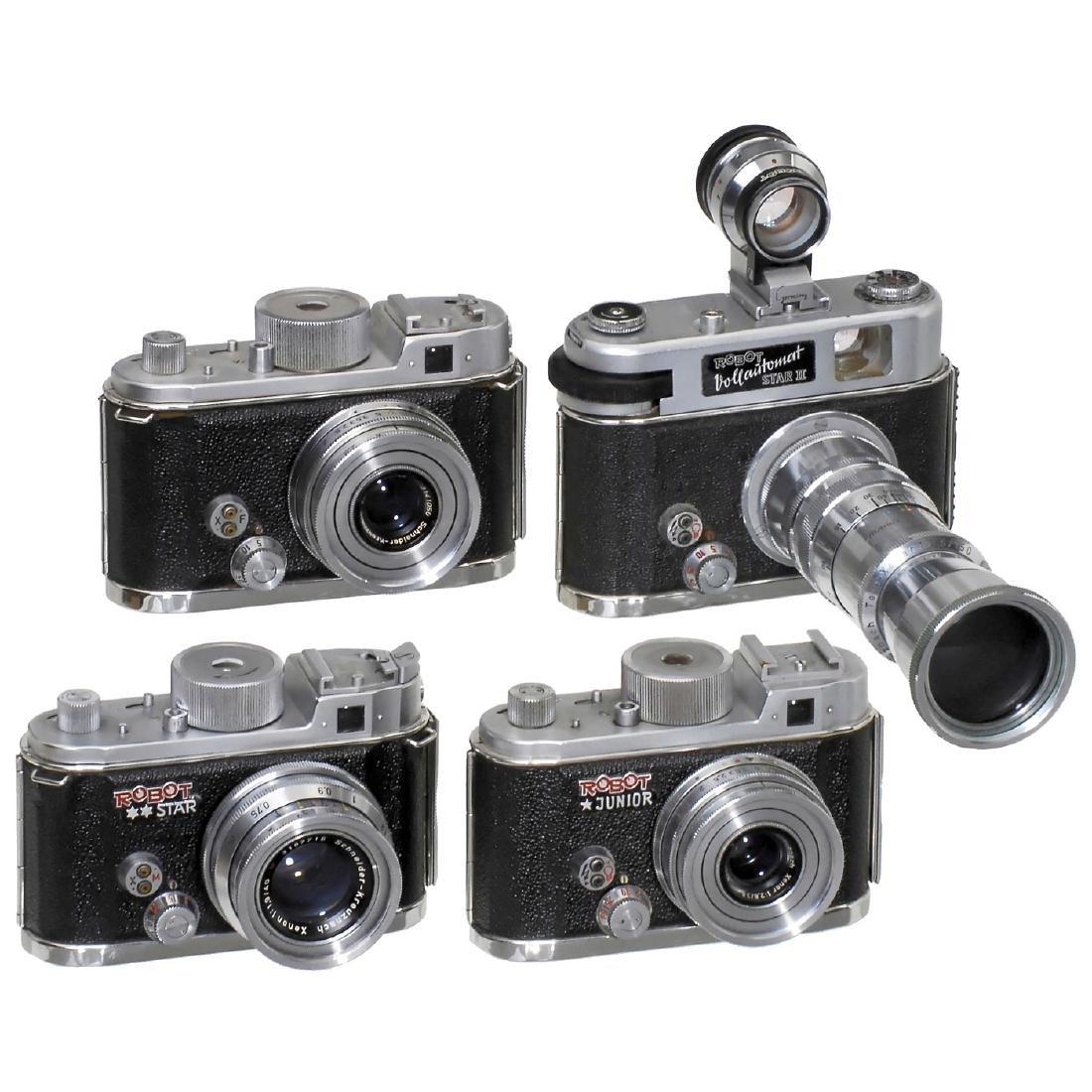 4 Robot Cameras (24 x 24 mm)