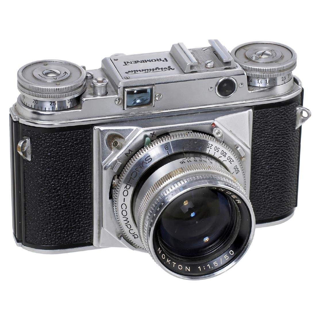Prominent (Second Model) with Nokton 1,5/50 mm, 1956