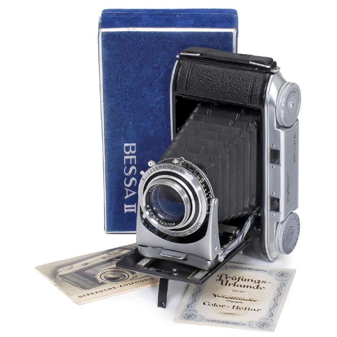 Bessa II with Color-Heliar, 1950