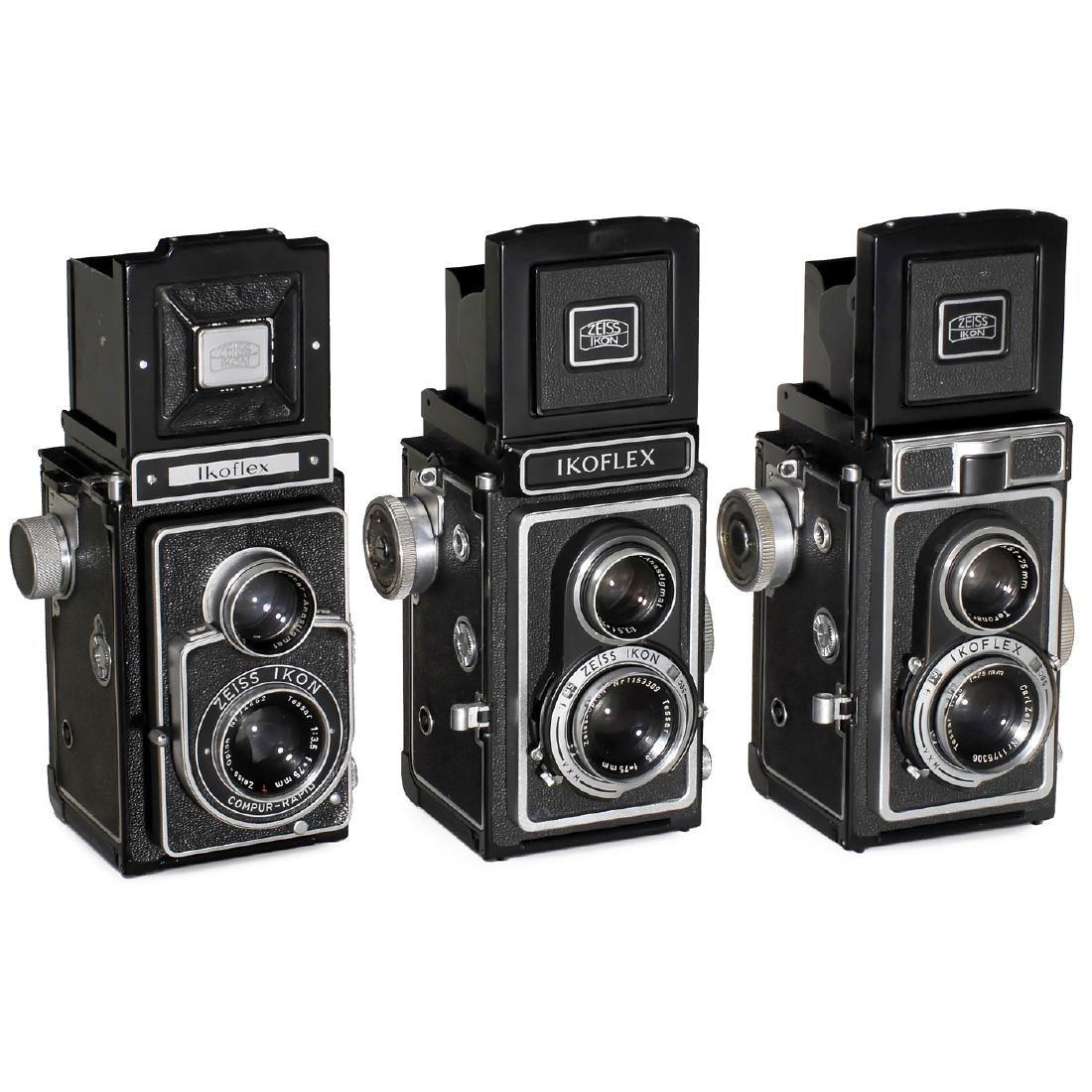 3 Zeiss Ikon TLR Cameras