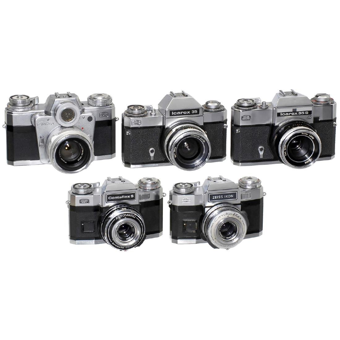 5 Zeiss Ikon SLR Cameras