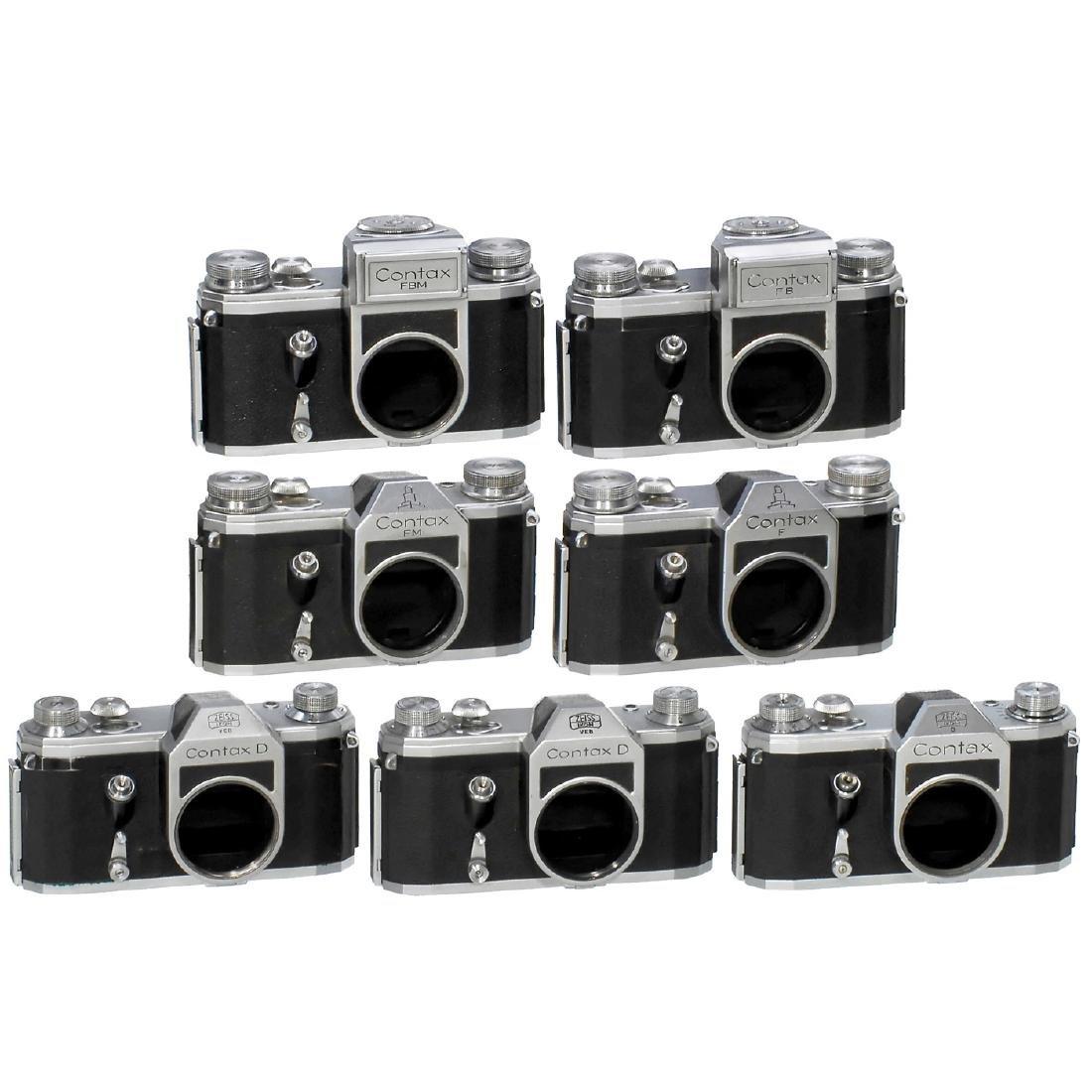 7 Contax SLR Cameras, 1951-58