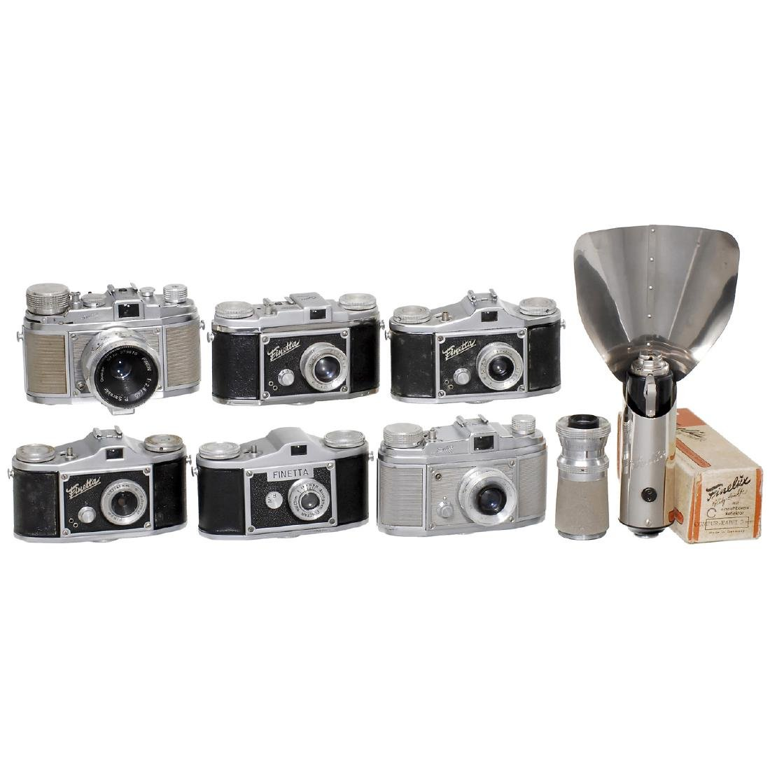 6 Finetta Cameras