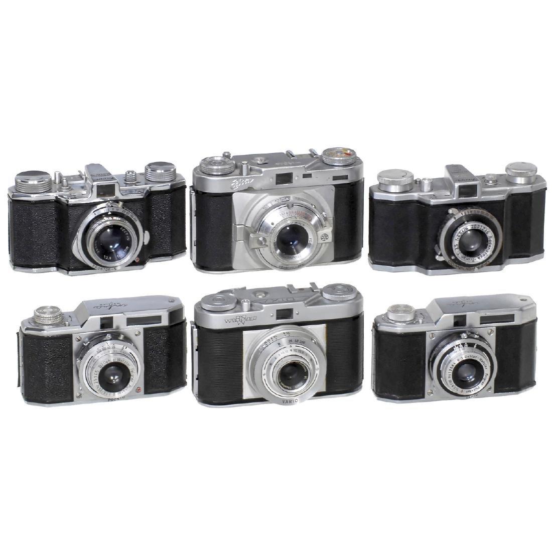 "2 ""Favor"", 2 ""Infra"" and 2 ""Edixa"" Cameras"