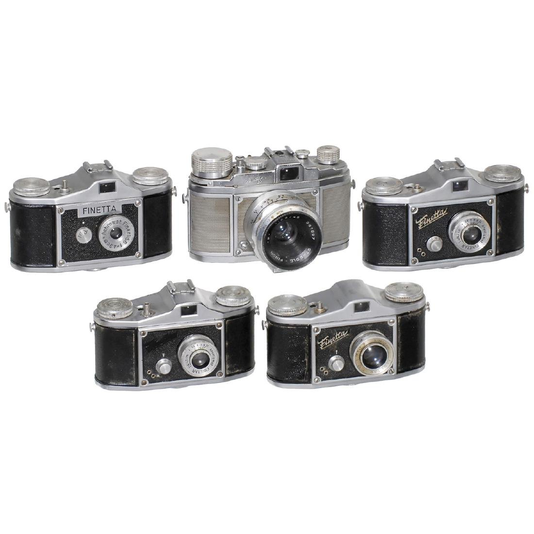 5 Finetta Cameras