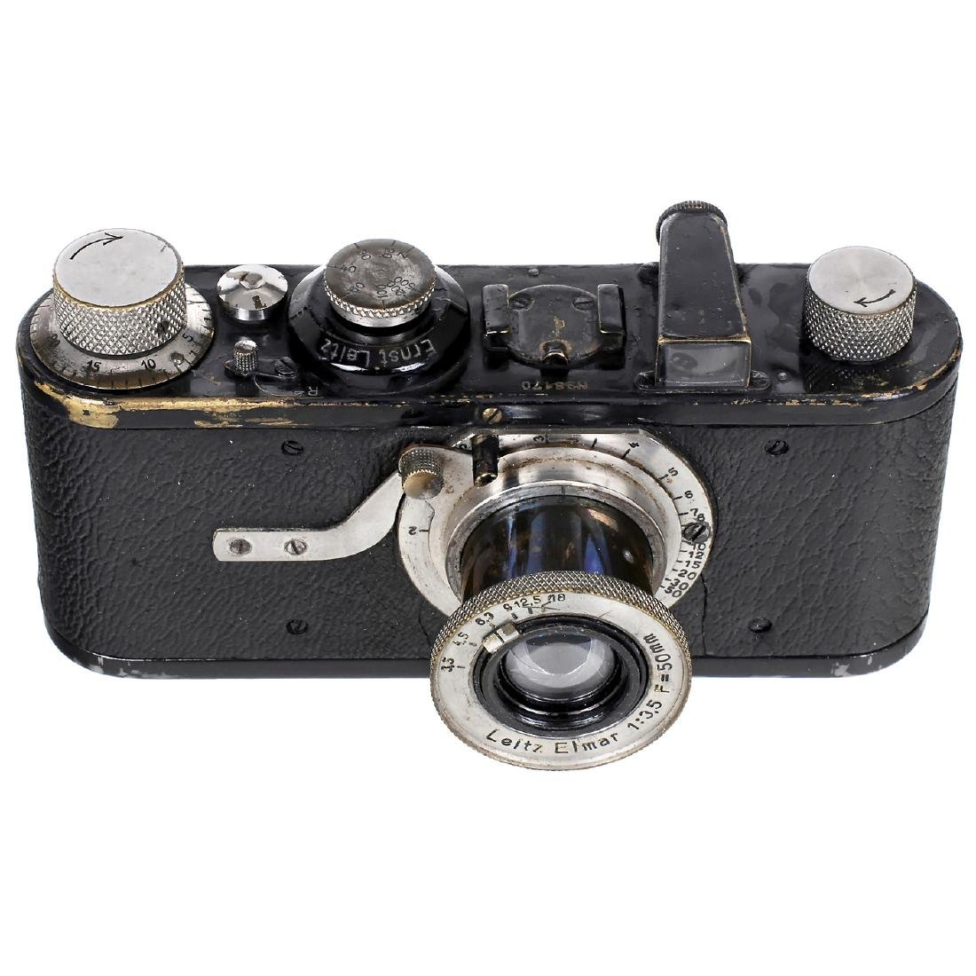 Leica I (A) with Elmar 3,5 (Near-Focus Version), 1928
