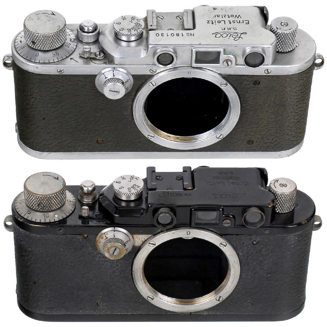Leica II (Converted) and Leica IIIa