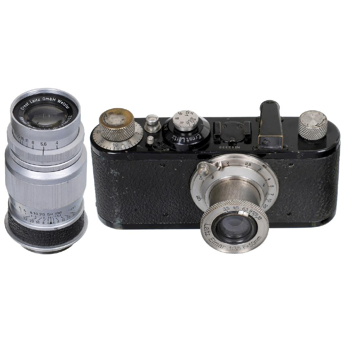 Leica I with Two Lenses, 1930