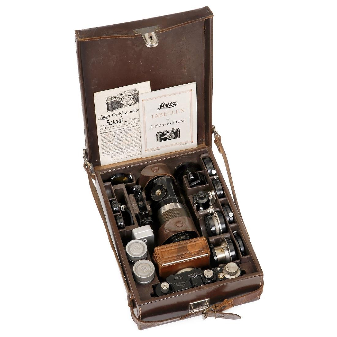 Leica II (D) Outfit, 1932 - 2