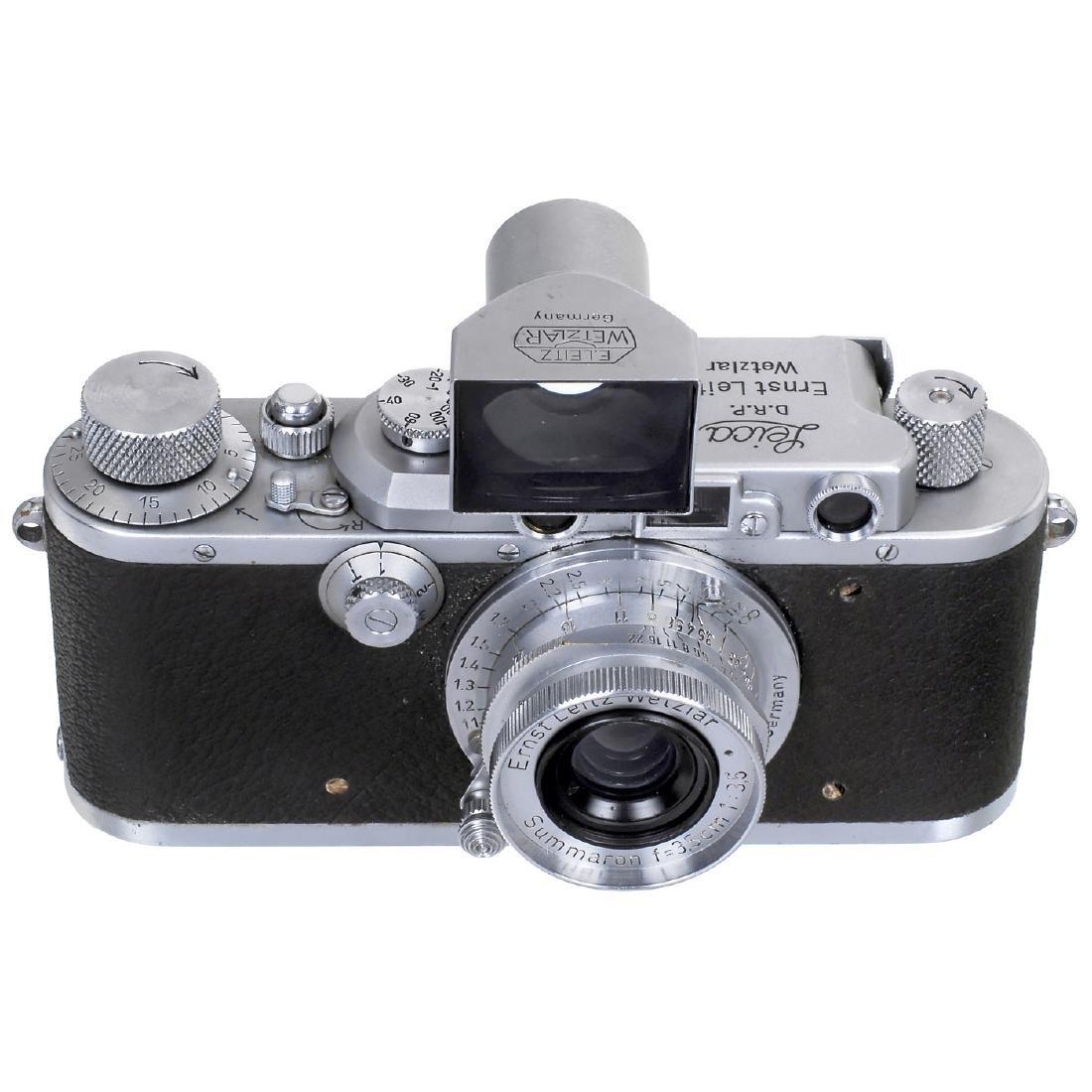 Leica IIIa with Summaron 3,5 cm and Finder, 1936