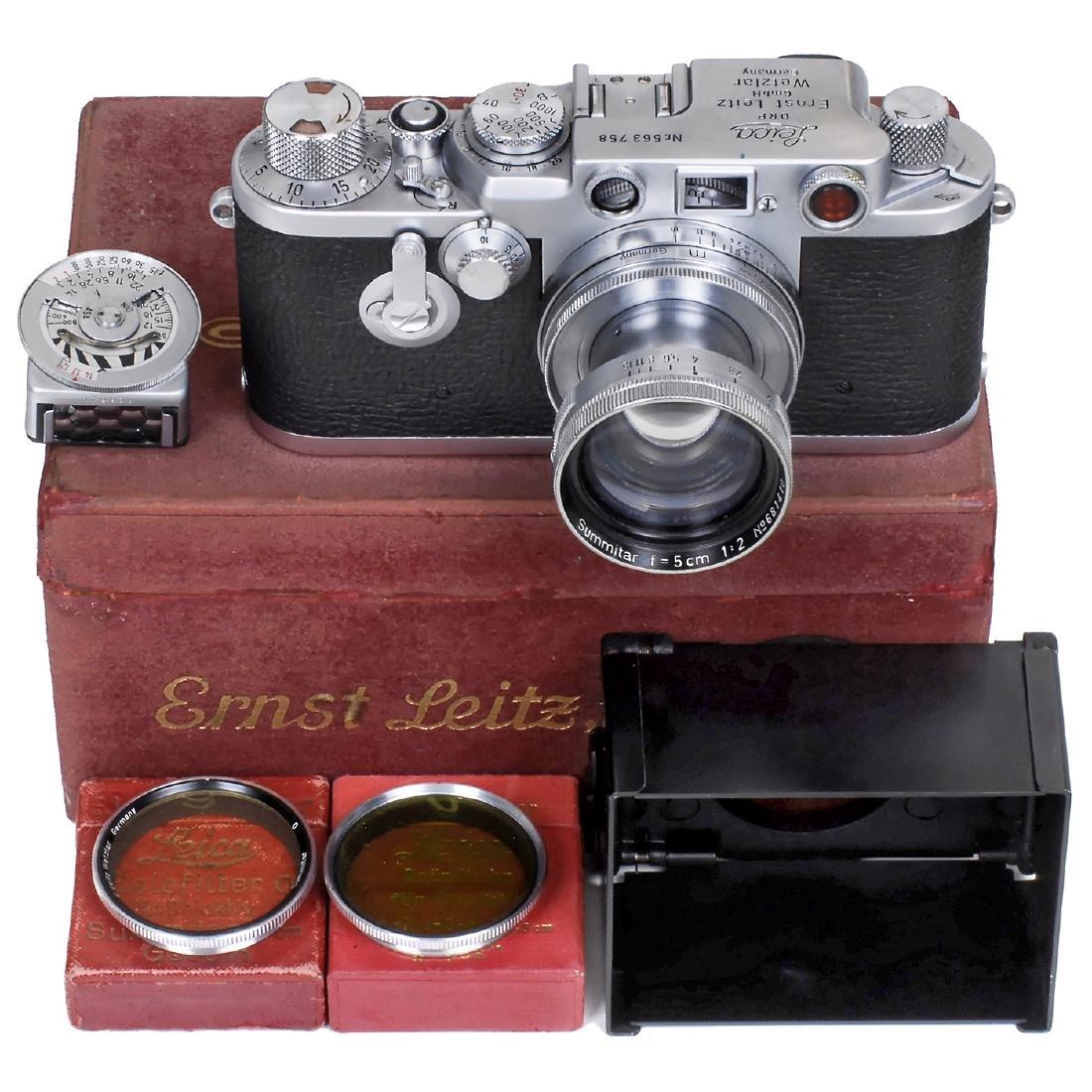 Leica IIIf, 1951