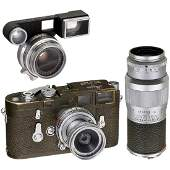 "Leica M3 Olive ""Bundeseigentum"" Set, 1957"