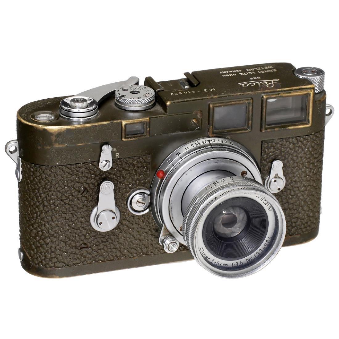 "Leica M3 Olive ""Bundeseigentum"" Set, 1957 - 2"