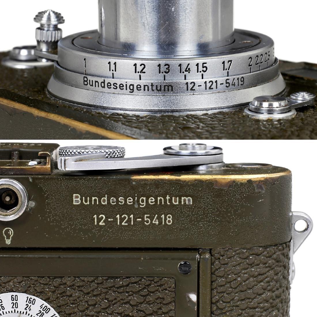 "Leica M3 Olive ""Bundeseigentum"" Set, 1957 - 7"