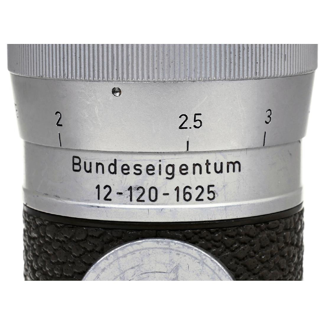 "Leica M3 Olive ""Bundeseigentum"" Set, 1957 - 8"