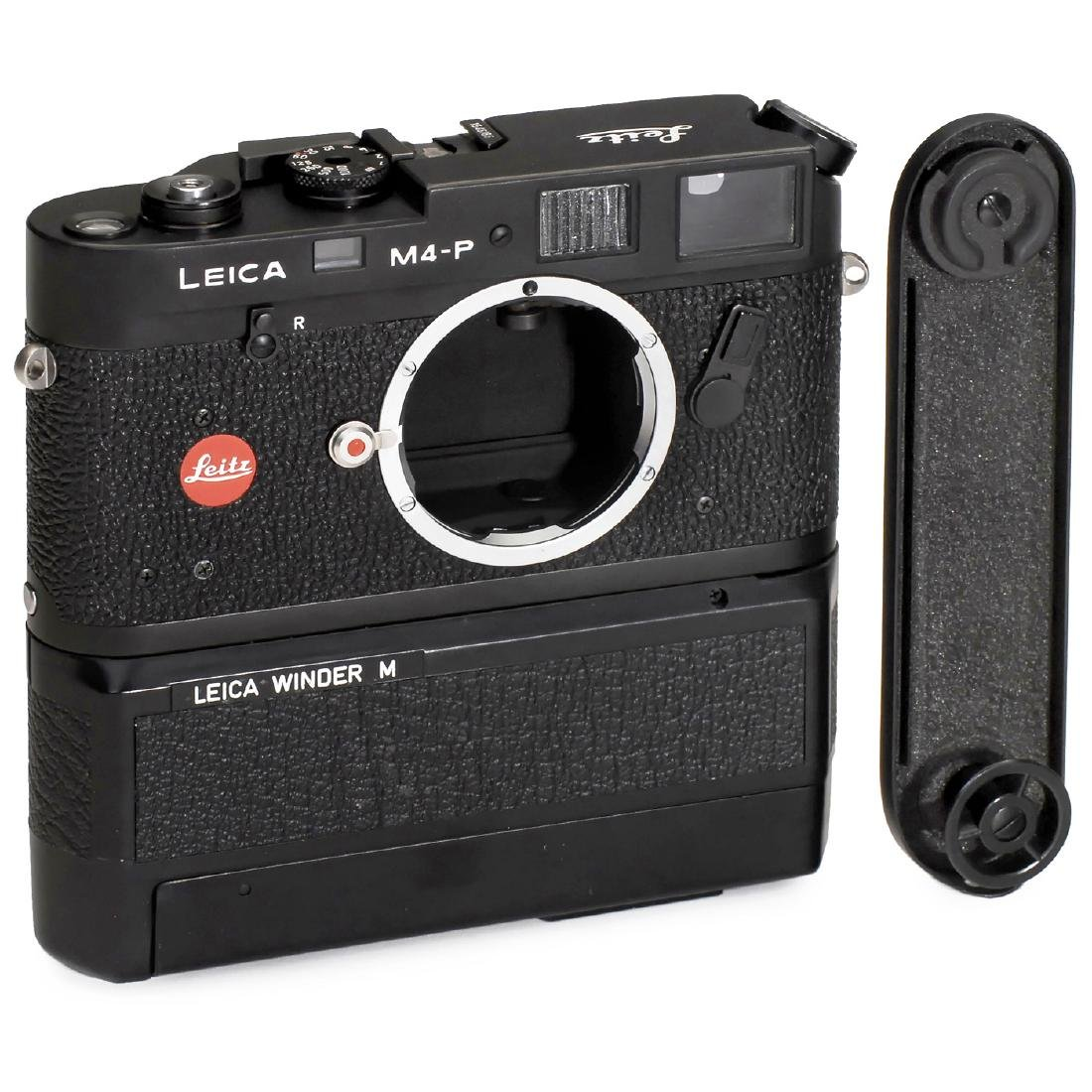 Leica M4-P with Winder M, 1981