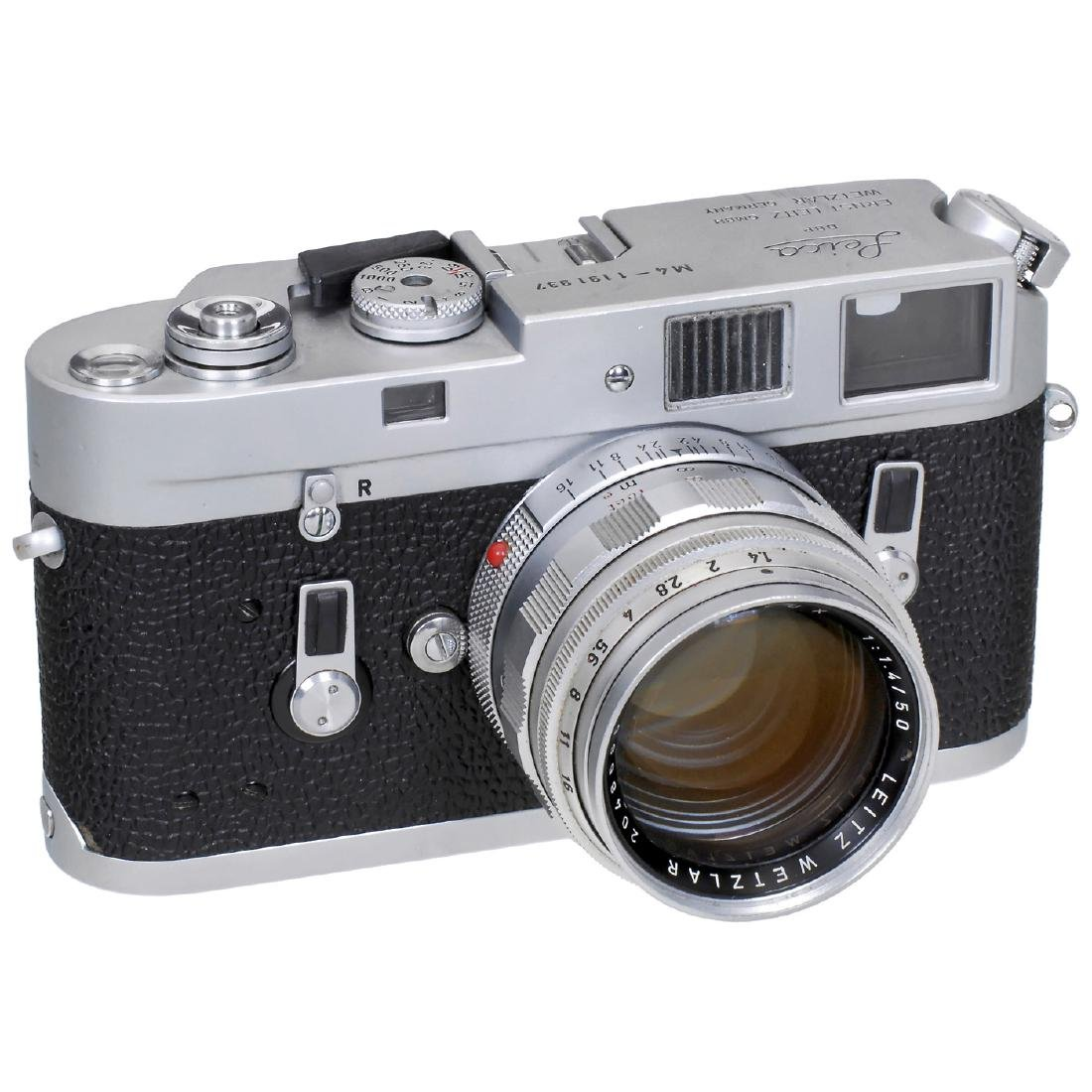 Leica M4 with Summilux 1,4/50, 1969
