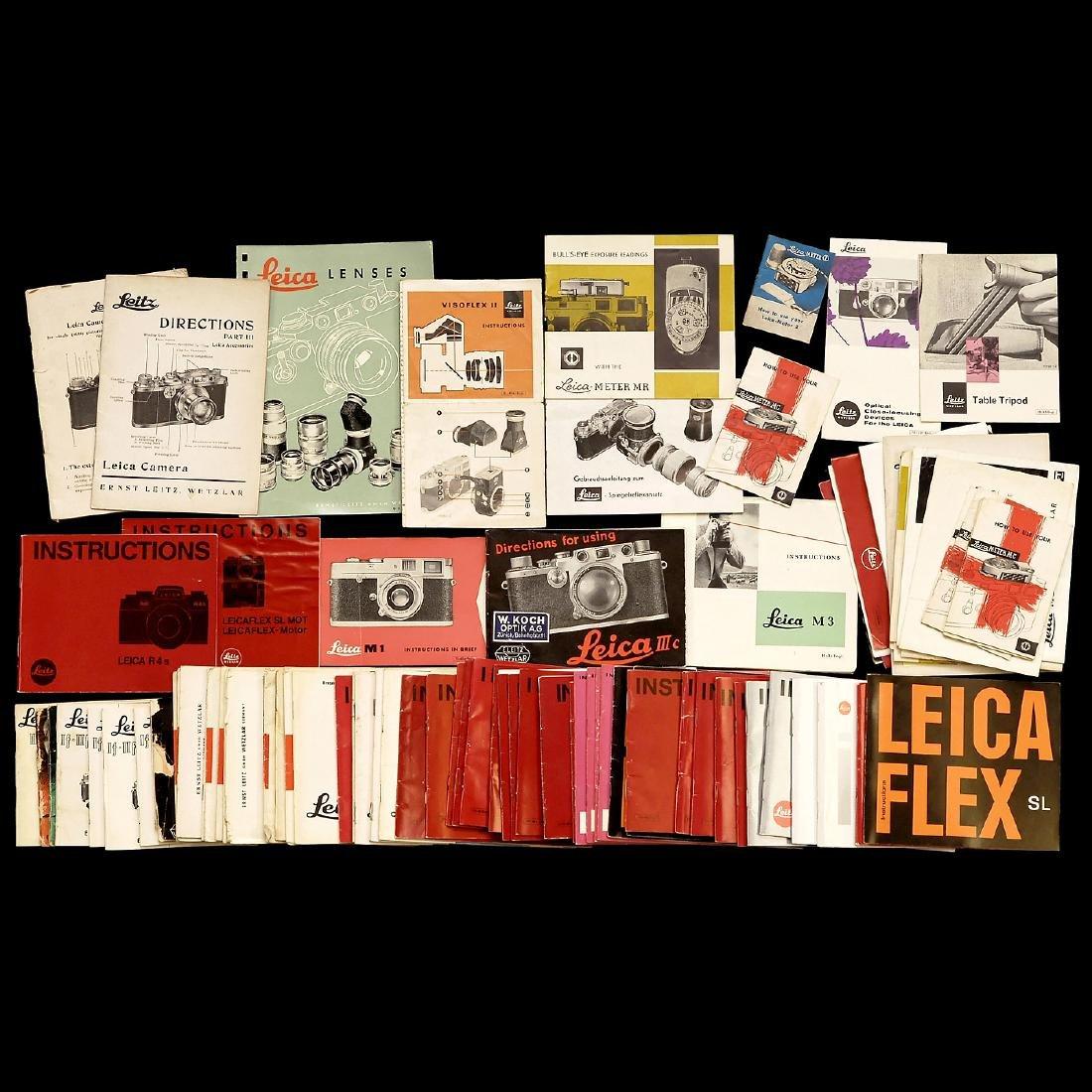 Leica Instruction Manuals