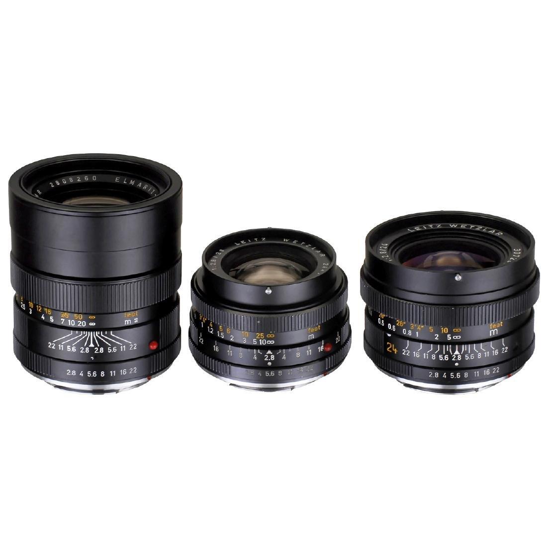 3 Leica-R Lenses