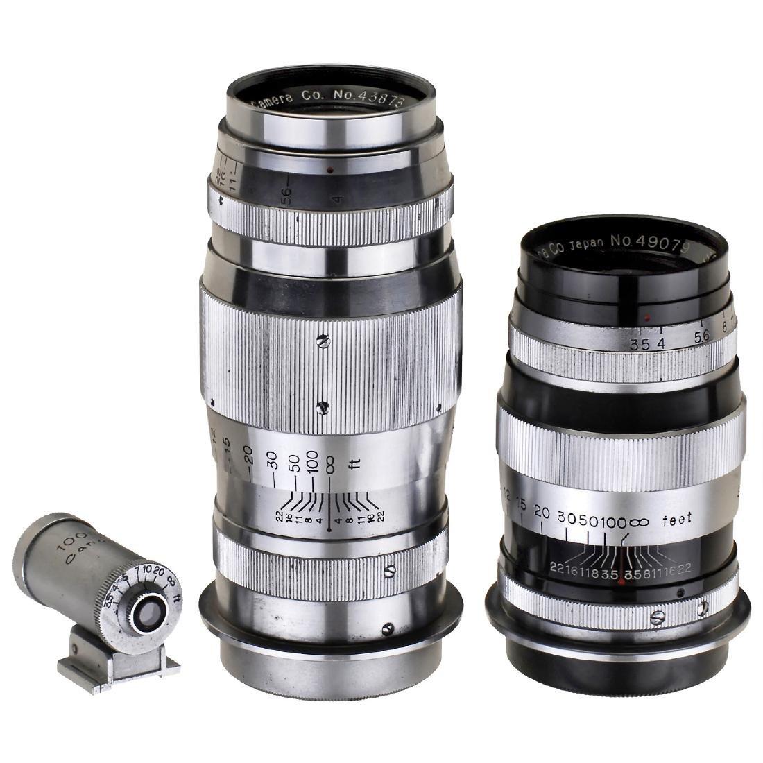 2 Canon Rangefinder Lenses