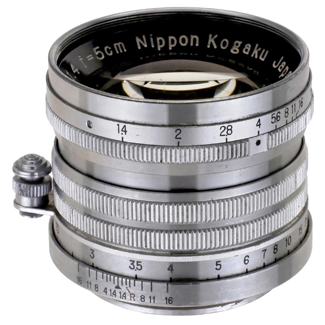Nikkor-S.C 1,4/5 cm for Leica Screw-Mount, c. 1953