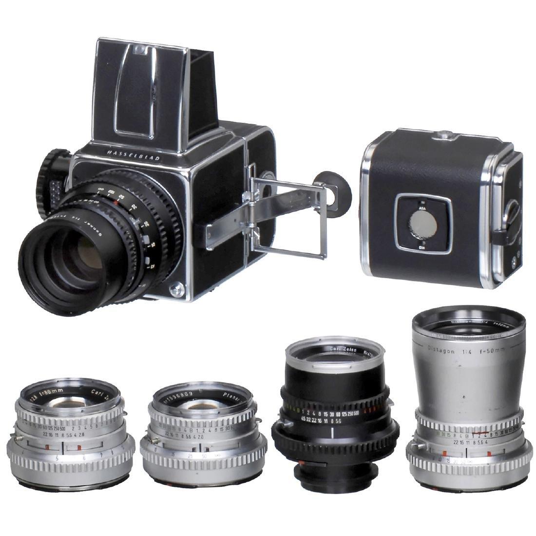 Hasselblad 500C with Lenses