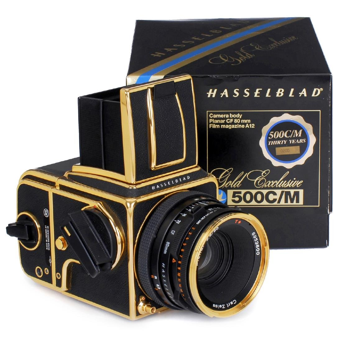 "Hasselblad 500C/M ""Gold Exclusive"", 1987"