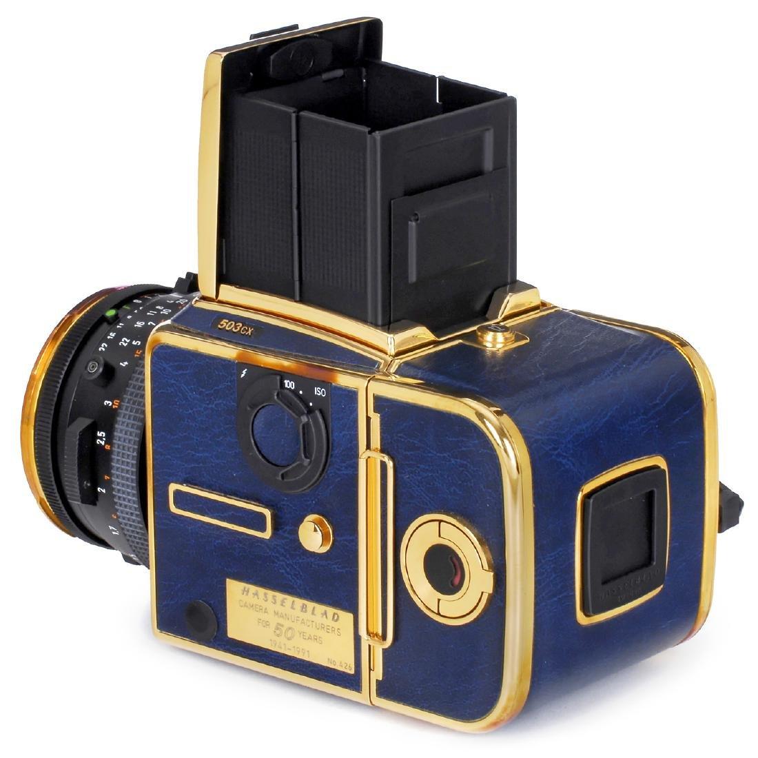 "Hasselblad 503CX ""Golden Blue 1941-1991"", 1991 - 3"