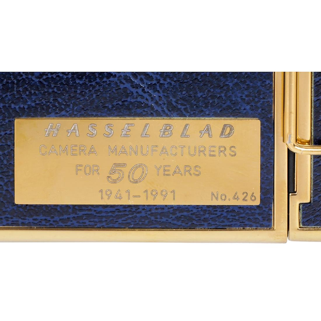 "Hasselblad 503CX ""Golden Blue 1941-1991"", 1991 - 4"