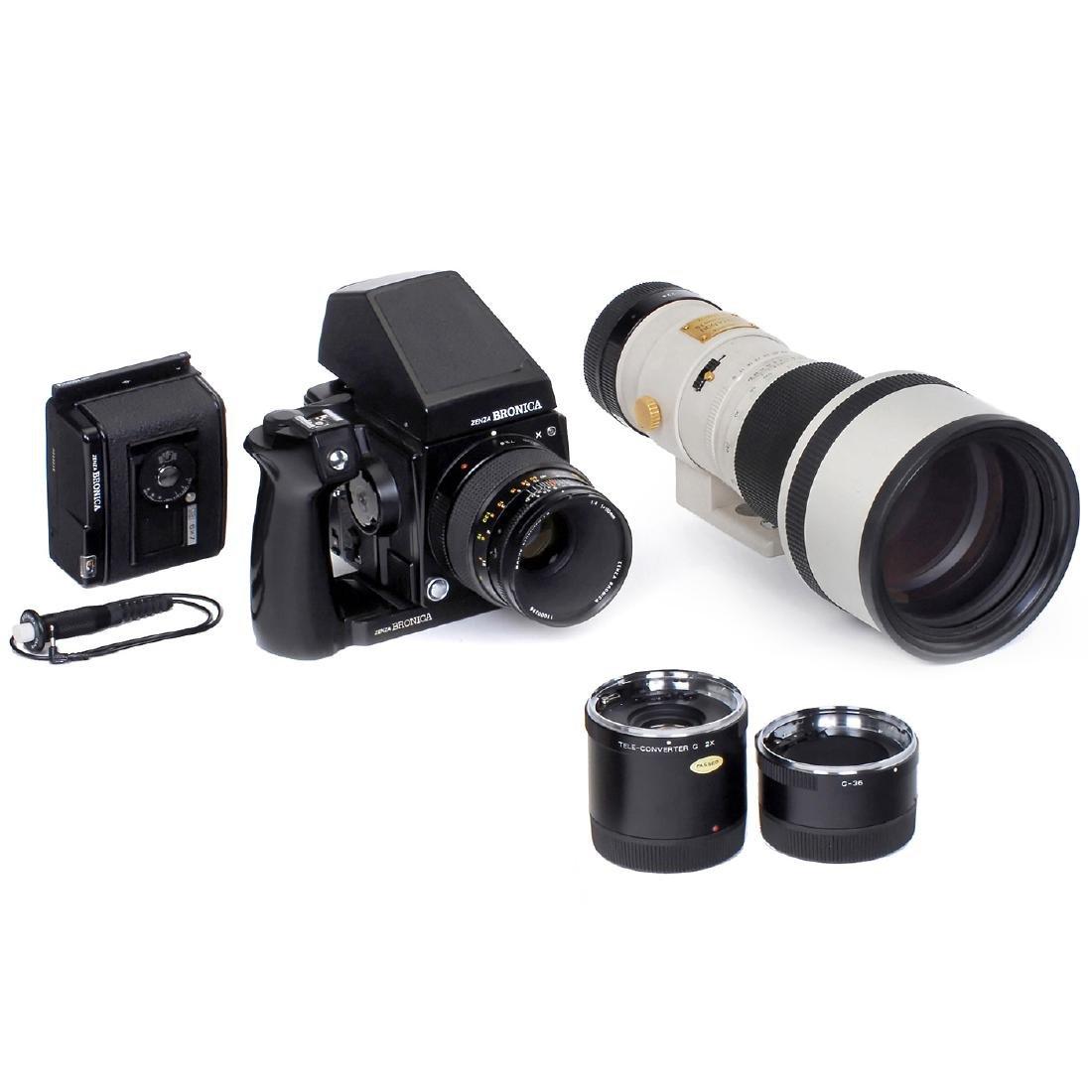 Zenzanon PG 8/500 mm with Zenza Bronica GS-1