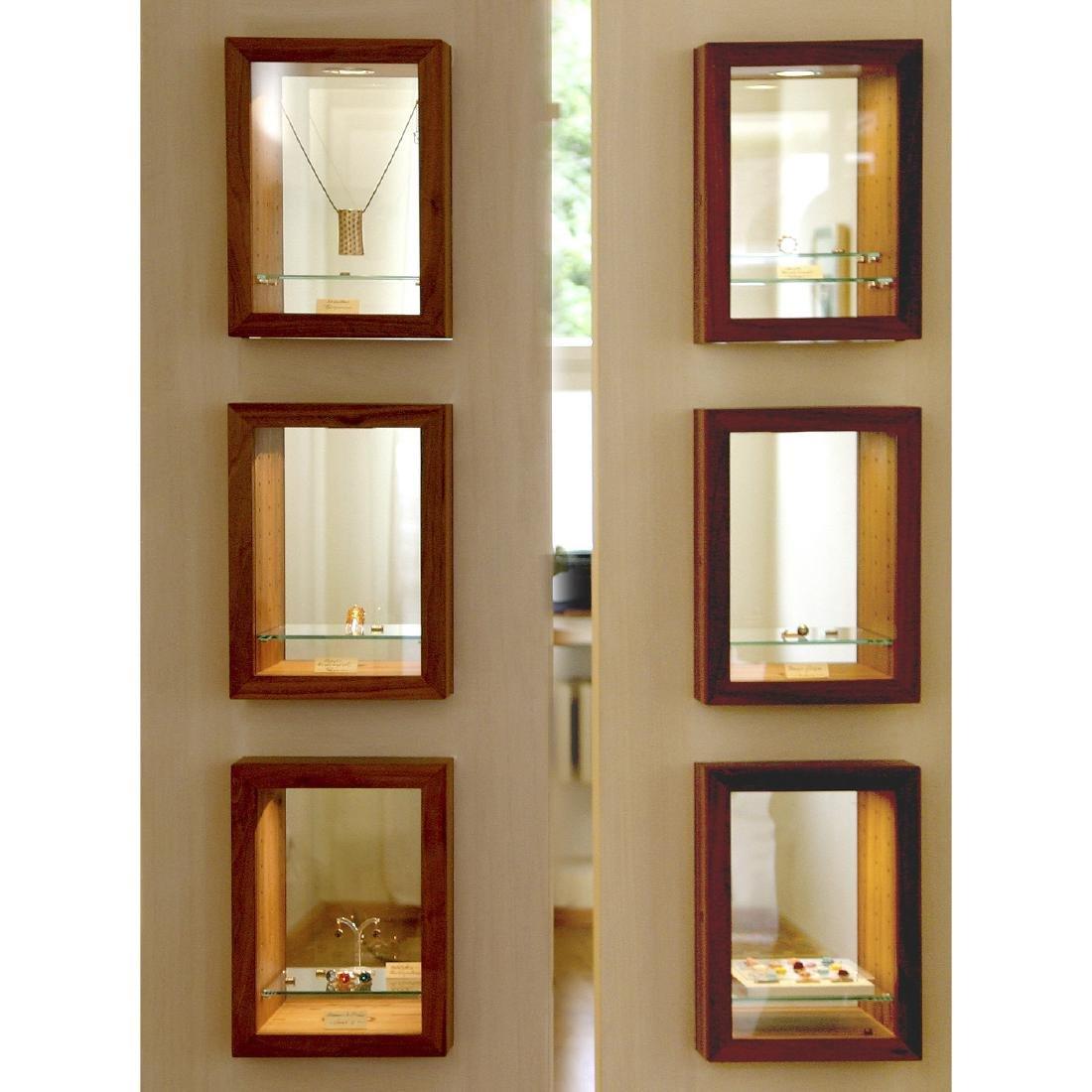 6 Custom-Built Designer Vitrines by Buchal & Krings, - 5