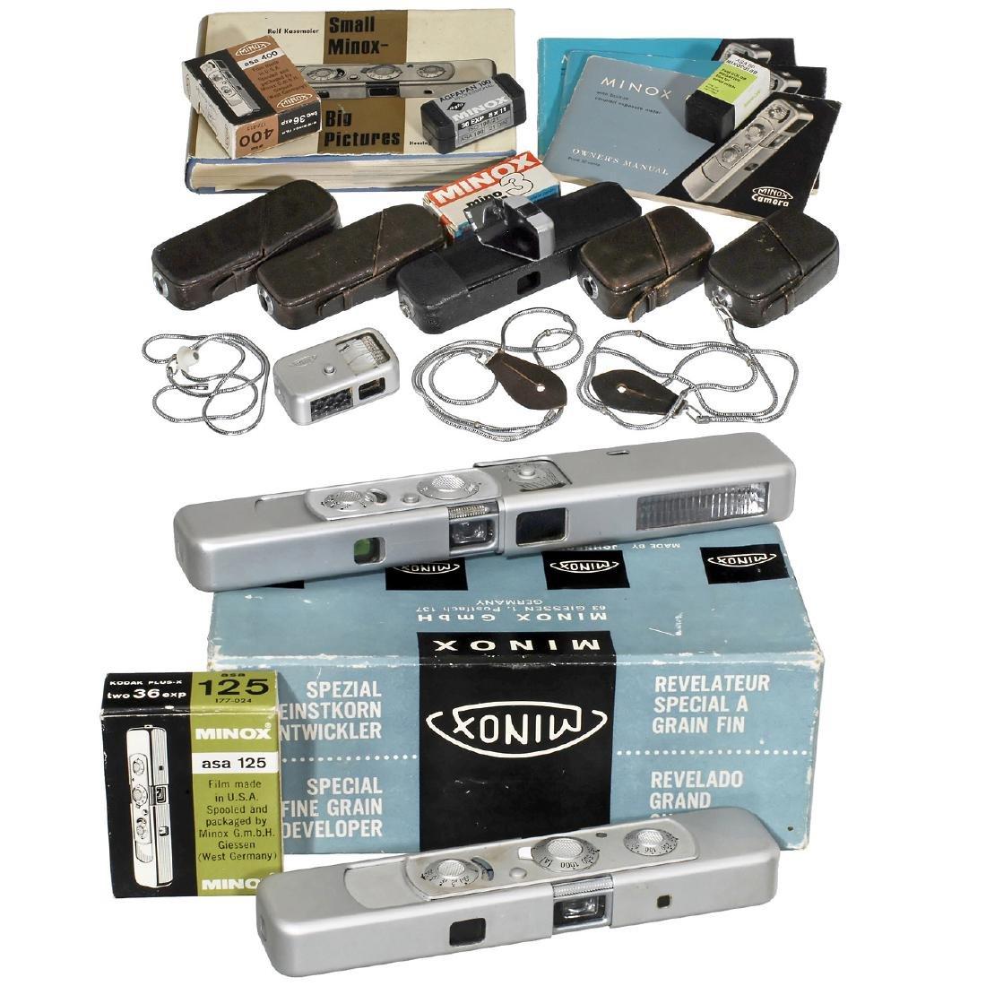 Minox B, Minox C and many Accessories